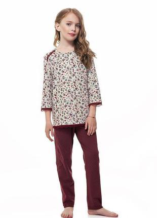 Детская пижама для девочки  ellen 019/001