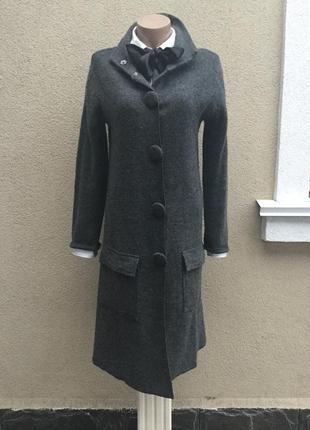 Длинная кофта,кардиган,трикотаж пальто,шерсть100%,hobbs,
