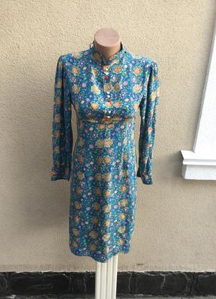 Винтаж,шелковое платье в деревенском,этно стиле,penelope,moda ...