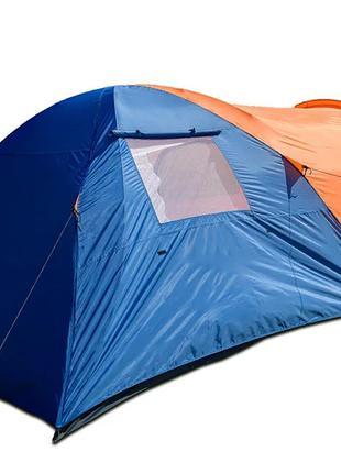 Трехместная двухслойная палатка Coleman 1504