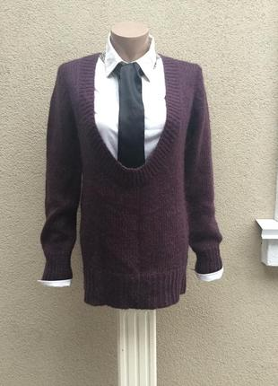 Вязанная,мохеровая кофта,свитер,джемпер,французский дизайн.onn...