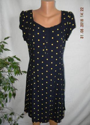 Новое натуральное платье f&f