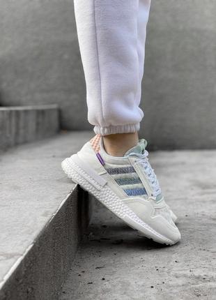 Женские кроссовки adidas адидас🔥весна осень лето цвет белый