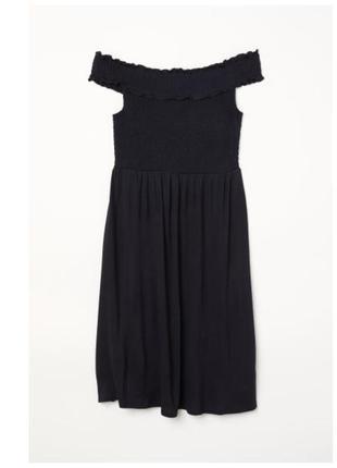 Платье, открытые плечи
