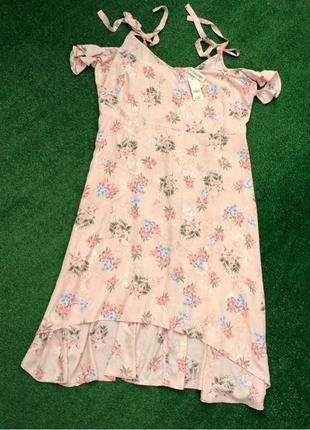Шикарное летнее платье большого размера батал