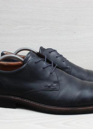 Мужские кожаные туфли ecco оригинал, размер 43 - 44