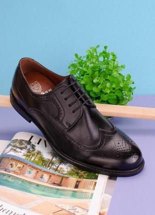 #1 туфли мужские чёрный
