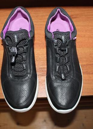 Новые кожаные кроссовки ecco sense оригинал