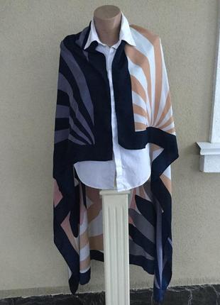 Большущий шёлковый платок,косынка,шарф,палантин