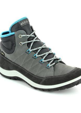 Новые кожаные ботинки ecco aspen gore-tex оригинал