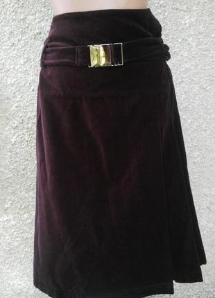 Вилюровая юбка tiffi большой размер