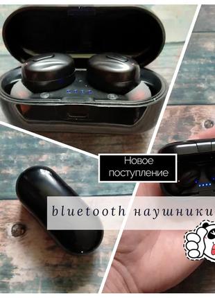 Беспроводные TWS блютуз bluetooth наушники