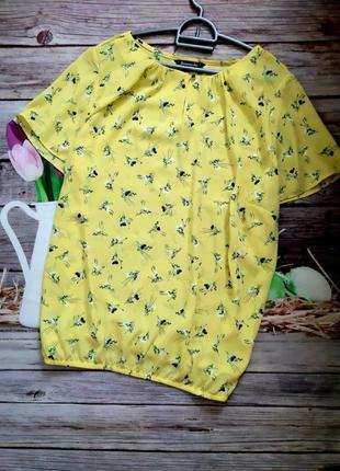 Самая красивая блузка шифоновая батал