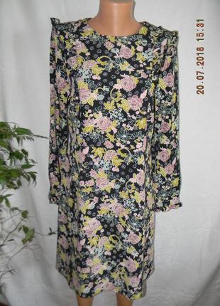 Платье новое с оборками redhering