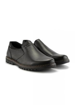 #4 туфли мужские чёрный