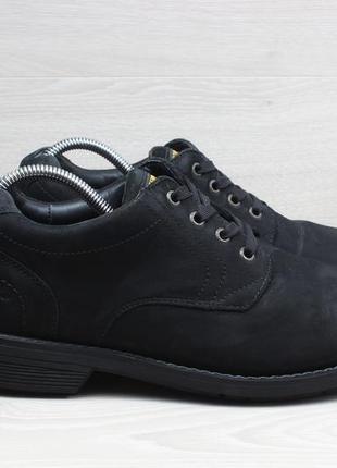 Мужские кожаные туфли / ботинки marks & spencer waterproof, ра...