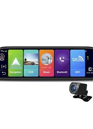 "Зеркало Андроид видеорегистратор навигатор Lesko 10,7 "" D30 4G"