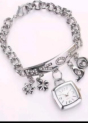 Красивые браслет часы женские часы браслет годинник