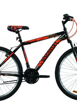 Велосипед 26″ Discovery RIDER 2020 (черно-красный)