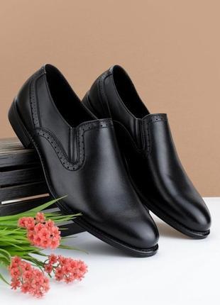 #6 туфли мужские чёрный