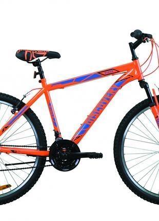 Велосипед 26″ Discovery RIDER 2020 (оранжево-синий)
