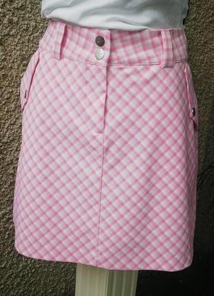 Новая спортивная юбка с шортами nike golf