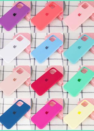 Силиконовый Чехол Кейс iPhone 11 Pro Max 11 Pro 11 X XS Max 7 8 P