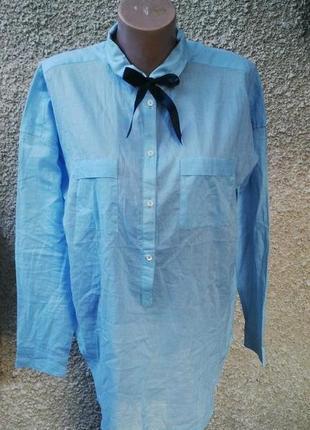 Нежнейшая рубашка esprit хлопок(блуза)свободного кроя