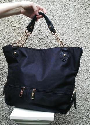 Брендовая сумка tiffany & fred(кожа+текстиль(плащевка)