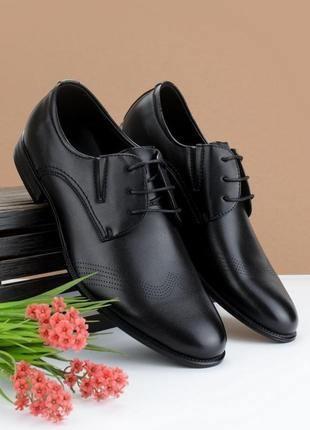 #8 туфли мужские чёрный