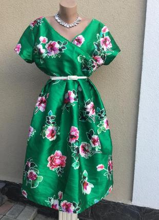 Красивое,нарядное,коктельное платье,открытая спина,жаккардовое...