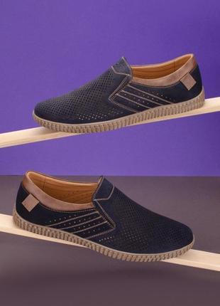 #11 туфли мужские синий