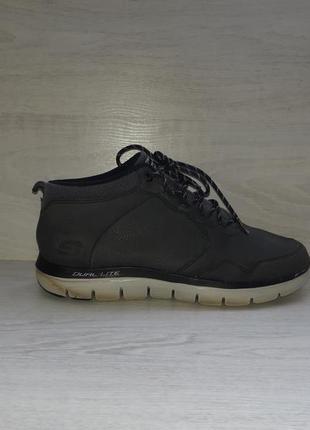 Кожаные ботинки skechers оригинал