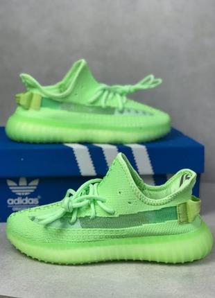 Adidas yeezy boost 350 v2 зеленые женские