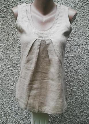 Льняная блузка new look