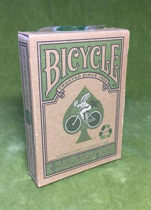 Карты для фокусов и покера Bicycle Eco Edition