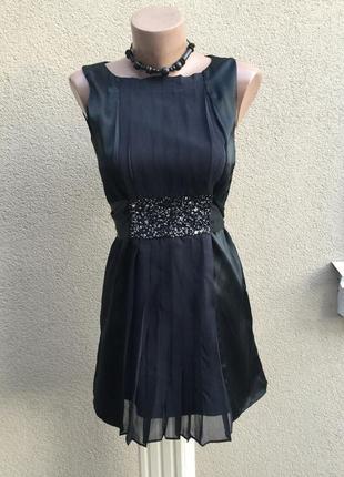 Шелк платье,сарафан,туника под пояс,вышивка бисер,люкс бренд,о...
