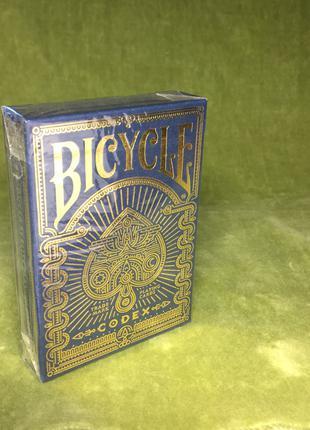 Покерные игральные карты Bicycle Codex Премиум класс
