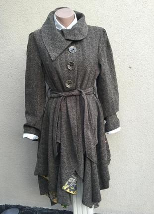 Асимметричное,легкое пальто,плащ,тренч,joe browns