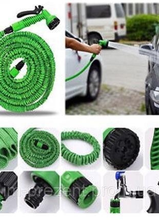 Поливочный шланг magic hose с распылителем 22,5м. (30/37.5м\45м)