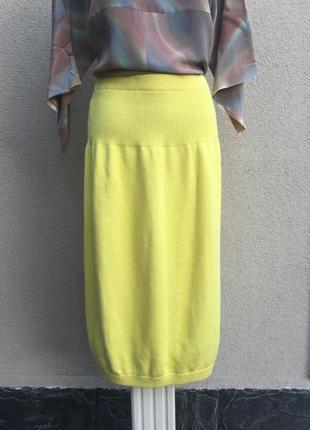 Винтаж,вязанная,трикотаж юбка-балон,хлопок100%,люкс бренд,ориг...