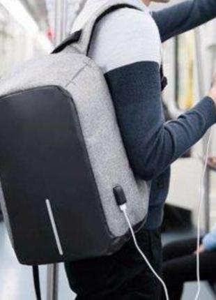 Рюкзак Bobby Бобби с защитой от карманников антивор USB разъем