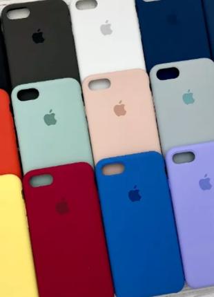 Чехол Silicone Case на Apple iPhone 6, 6s, 6 plus, 6s plus, 7 plu