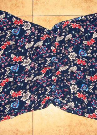 Женский летний комбинезон ромпер блузка и шорты р.48 платье