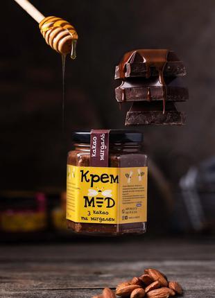 Крем-мед какао та мигдаль 100мл/200мл