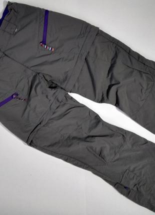 Детские треккинговые штаны 2 в 1 qeuchua, 143/150 см.