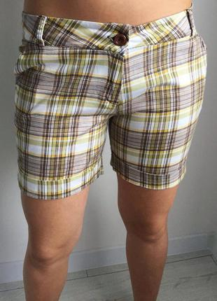 Шорти, шортики, шорты в клетку, короткие шорты.