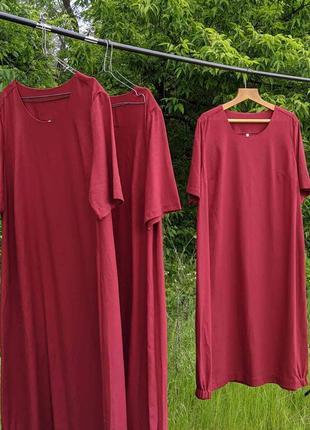 Льняное  платье  размеры 50,52,54,56