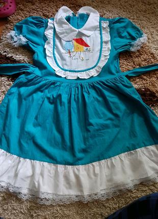 Платье на девочку винтаж