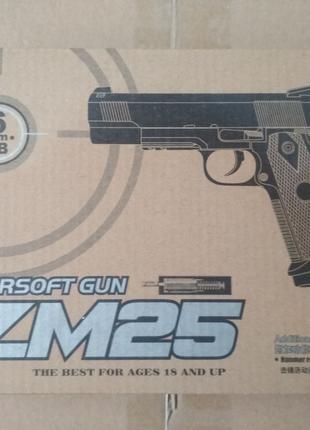 Пистолет Colt металлический страйкбольный